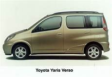 Yaris Verso Toyota Uk Media Site
