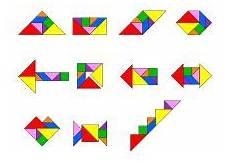die 12 besten bilder tangram legespiele legenden
