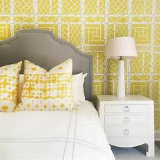 Yellow And Grey Wallpaper Bedroom Ideas by Yellow And Gray Wallpaper Design Ideas