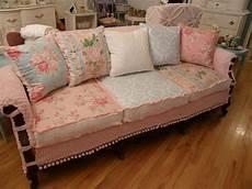 shabby chic sofa bed shabby chic slipcovered sofa vintage