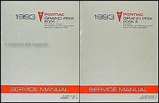 car repair manual download 1990 pontiac grand prix turbo interior lighting 1993 pontiac grand prix repair shop manual original 2 volume set