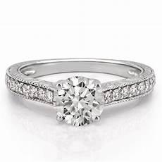 engraved engagement ring engraved diamond ring do