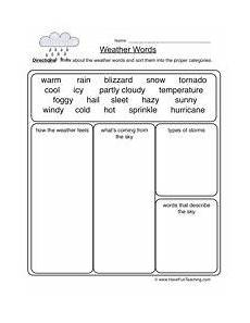 weather words worksheet science 2nd grade weather worksheets weather words weather lessons