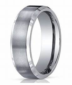 7mm men s benchmark titanium wedding band with satin finish and polished edges justmensrings com