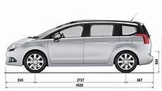 dimensions peugeot 5008 peugeot 5008 technical data peugeot uk