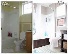 cheap bathroom makeover banos pinterest
