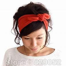 bandana cheveux femme oreille 201 lastique bandeau pour femme fille noeud bandage