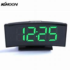 Alarm Clock Mirror Display Digital Temperature by Multifunctional Large Screen Digital Display Electronic