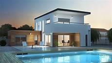 plan maison moderne 3d meschers maisons elysees