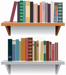scaffali moderni scaffali per libri moderni illustrazione vettoriale
