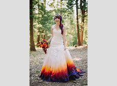22 Ombre Wedding Dresses For Brides Who Want To Show Their