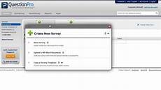 how to create an online survey youtube