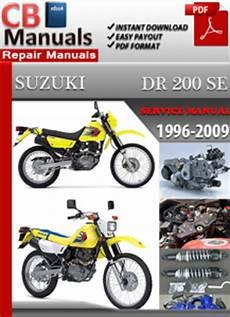 free online car repair manuals download 1997 suzuki swift interior lighting suzuki dr 200 se 1996 2009 service manual free download service repair manuals