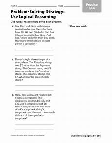 logic and reasoning lesson plans worksheets lesson planet