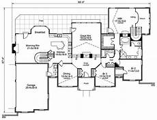 atrium ranch house plans stylish atrium ranch house plan with class 57134ha