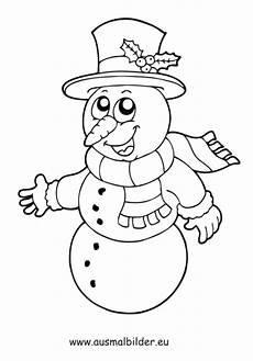 Ausmalbilder Weihnachten Schneemann Ausmalbild Lachender Schneemann Kostenlos Ausdrucken