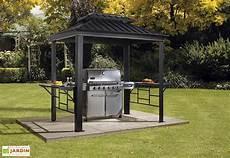 Abri Pour Barbecue Aluminium Et Acier Galvanis 233 Messina 2