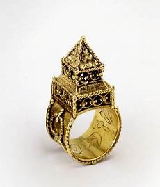 a jewish wedding ring like this one can be see at the