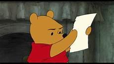 winnie the pooh winnie the pooh pooh s note clip
