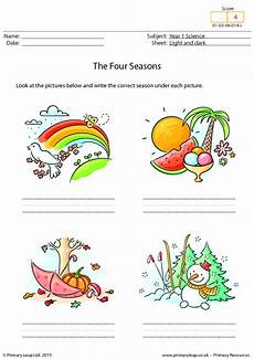 worksheets on seasons for grade 2 14834 writing the four seasons