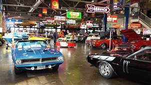 Wellborn Muscle Car Museum In Alabama  Collections
