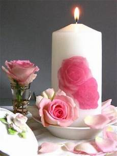 candele rosa centerpieces with candles and roses