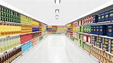 scaffali supermercati interno supermercato con gli scaffali illustrazione di