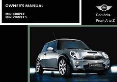 free car manuals to download 2002 mini mini transmission control mini cooper 2002 owner s manual pdf online download