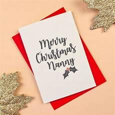 granny grandma gran nanny nan christmas card by darwin designs notonthehighstreet com