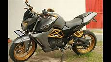 Biaya Modifikasi New Megapro Fighter by Cah Gagah Modifikasi Motor Honda New Megapro