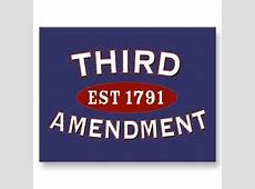 3rd amendment to the constitution