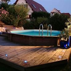 bois pour piscine ides de deck pour piscine hors sol galerie dimages