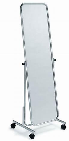 standspiegel auf rollen spiegel fahrbar ladenausstattung schweiz kundenstopper