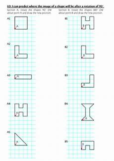 year 6 rotation worksheet by rjsenior uk teaching resources tes
