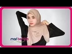 6 Model Gaya Cara Pakai Jilbab Segi Empat Simple Anggun
