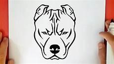 dessin bull comment dessiner un pitbull