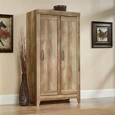 sauder adept wide storage cabinet craftsman oak finish bookcases cabinets home