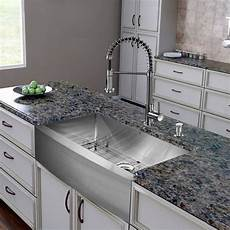 vigo all in one 36 inch farmhouse stainless steel kitchen