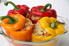 Gefüllte Paprika Vegan - gef 252 llte paprikaschote vegan rezept vidavida