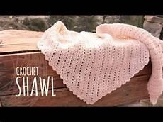 Tutorial Vintage Crochet Shawl