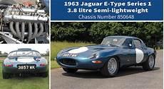 1963 jaguar e type semi lightweight competition classic cars for sale