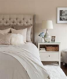 the elegant abode li bedroom tufted headboard sequin pillow neutral bedroom fur throw pillow
