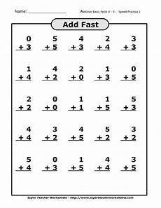 14 best images of addition facts worksheets first grade