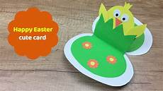 And Easy To Make Easter Card Great Easter Craft For