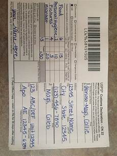 how to fill out the new customs forms for apo addresses with images army care package