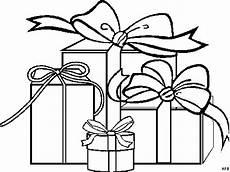 gratis malvorlagen geschenke vier geschenke ausmalbild malvorlage gemischt