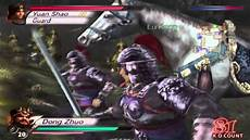 dynasty warriors 4 dong zhuo act 1 youtube