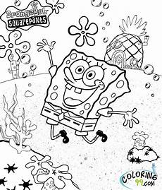 spongebob squarepants coloring pages minister coloring