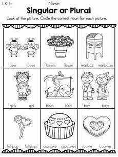 valentine s day literacy activities kindergarten nouns