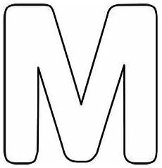 Ausmalbilder Buchstaben M Malvorlagen Buchstaben M